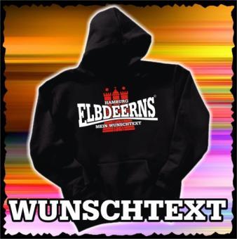 Kapuzensweatshirt - Elbdeerns * WUNSCHTEXT *